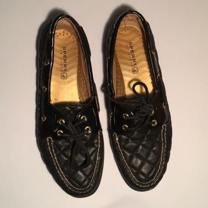 Woman's Sperry Top-Sider Boat Shoes Size 9.5